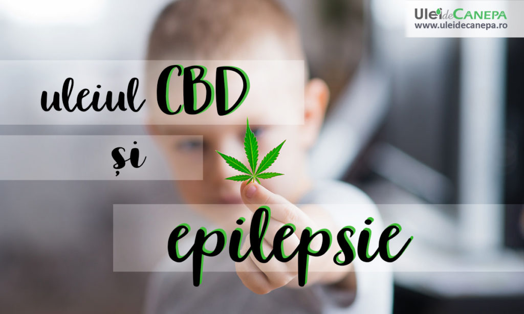 CBD si epilepsie