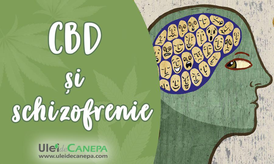 ulei CBD si schizofrenia
