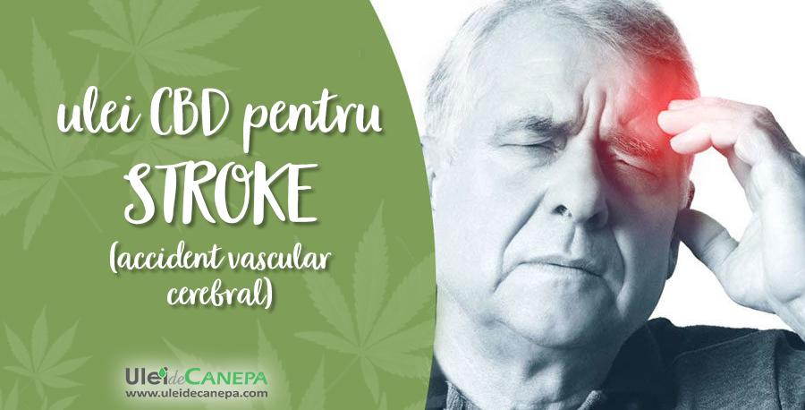 CBD pentru stroke